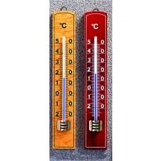 Termometro in legno ad Alcool 180x30 cm