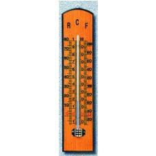 Termometro in legno ad Alcool 247x57 cm